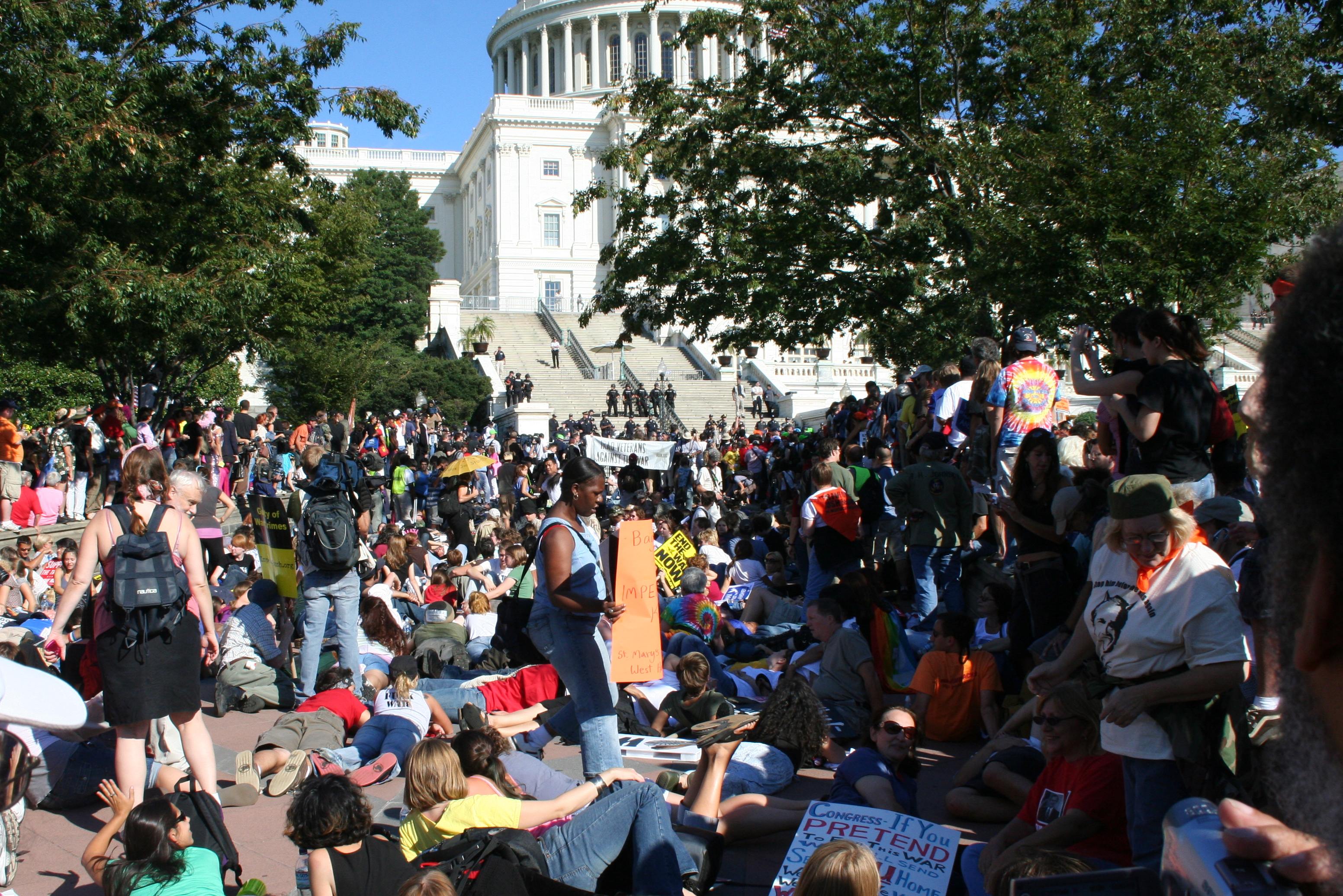 9/15 Anti-War Rally Photos
