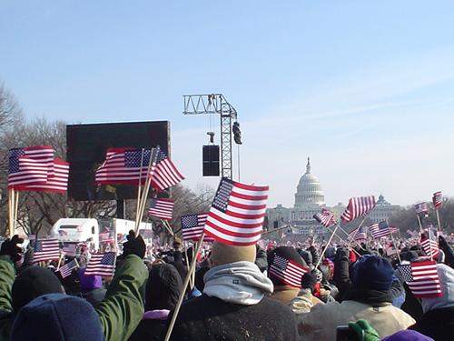 FlagsWaving