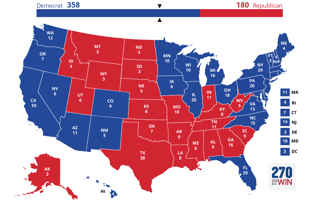 Images 5 Optimistic Electoral Maps for Clinton 6 Hillary Clinton