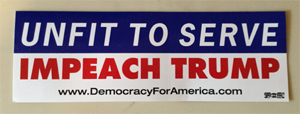 Bumpersticker prize