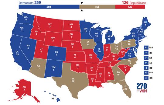 My Electoral Map